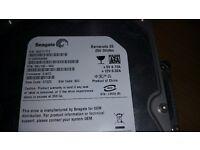 4 Seagate 250 Gbytes hard drives