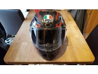 Agv gt veloce txt motobike helmet like new