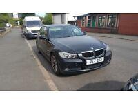 BMW 318iSE 2006 Black Petrol, MOT AUG 18, FSH, SWAP Spares Repairs, Private Plate INC