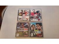 Ps3 fifa 08,09 and pro evolution 2008 2009