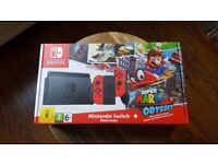 Nintendo Switch Super Mario Odyssey LIMITED EDITION - RARE! BRAND NEW / UNUSED!