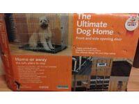 Rosewood 2 door medium dog cage - unused