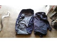 2 LARGE HOLDALLS WITH WHEELS ( NEED AWAY ASAP )