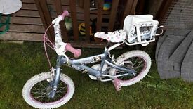 GIRLS BIKE IDEAL FOR 5 YEARS +