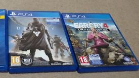 PS4 Destiny, Far Cry 4 and Plants vs Zombie
