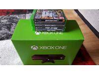 Xbox One Bundle 2 Pads 10 Games GTA 5 Fifa 17