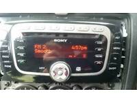 Ford focus transit cmax smax stereo
