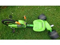 Green machine go-kart