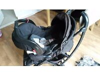 Mothercare Curv Travel System - baby seat, pushchair & accessories - for sale