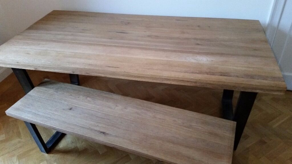 JOHN LEWIS CALIA 8 SEATER DINING TABLE BENCH