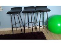 3 x Kitchen/bar chairs