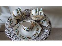 Vintage Imperial china 21 piece tea set