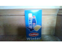 Small sized CarPlan Winter Clear Screen pack - brand new