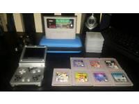 Nintendo gameboy advanced and original gameboy games mario star wars rare collectors