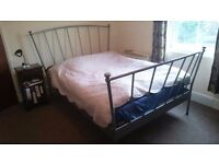 Double/king size Ikea bed frame for sale