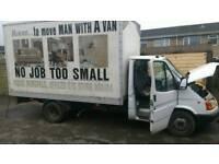 Transit box van spars or repairs