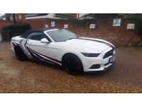Make the special days a little bit different, Ford mustang hire for events