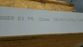 Egger protect 22 mm 2.4 x 600 mm boards ..rrp £19.50+vat selling at £10 each