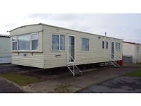 Fantastic 3 bedroom 8 berth caravan for hire / to let at trecco bay porthcawl