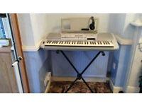 Yamaha 450 Electronic Keyboard - complete package