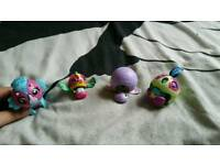 Bundle transfers from ball figure toy games