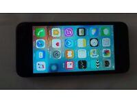 Black I phone 5 16 gb on EE network