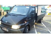 Ford transit flatbed xlwb not tipper