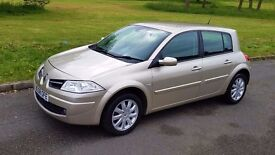 2008 Renault Megane 1.5 dCi 5dr 12Months MOT £30 Tax 70MPG Full Service History Low Mileage