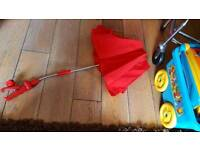 Parasol For The Sun buggy/pram perfect condition been used Once!