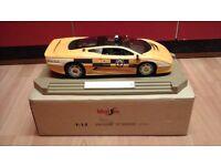 JAGUAR XJ220 WEST MIDLANDS POLICE CAR 1/12 SCALE