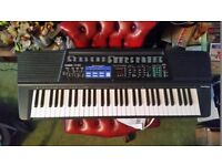 Casio CT-655 keyboard with power supply