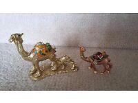 Egyptian trinket camels