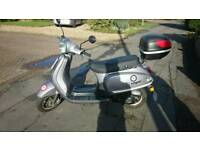 49cc Moped 2014 silver