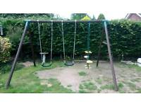 Plum Garden Swing Set