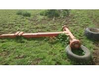 Tanker axle drawbar