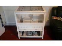 ferplast indoor rabbit hutch brand new