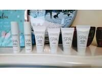 The white stuff face body spa cosmetics espa