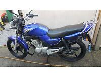 2008 - Yamaha YBR 125cc Motorbike (Kernow Motorcycles & Scooters)