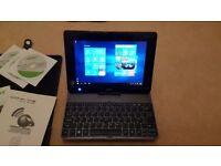 ACER ICONIA TABLET 3G WINDOWS 10 W501P PLUS KEYBOARD 32GB SSD 1 GB RAM