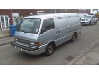 1997 mazda E2200 van diesel twin side loading doors