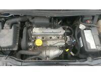 vauxhall zafira 1.6 engine