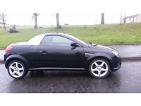 VAUXHALL TIGRA SPORT 1.4 TIN TOP CONVERTABLE SPORT YEAR MOT STUNNING WEE CAR SWAP PX
