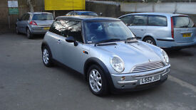 mini cooper full service history pan roof alloy wheels px poss