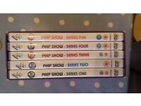 Peep Show series 1 to 5 on DVD