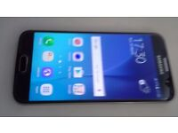 Samsung galaxy s6 32gb open to any network in excellent condition