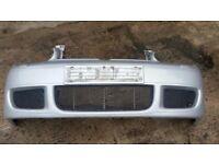 Genuine VW Golf mk4 R32 gt tdi gti bumper & grilles complete reflex silver la7w