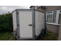 Ifor Williams bv85 box trailer