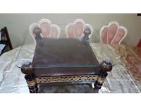 HANDMADE TRADITIONAL COFFEE TABLES SET OF 3
