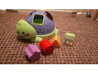 Fisher price shape toys + a free light shade