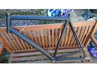 Dolan FXE track/fixie frame 60cm matte black